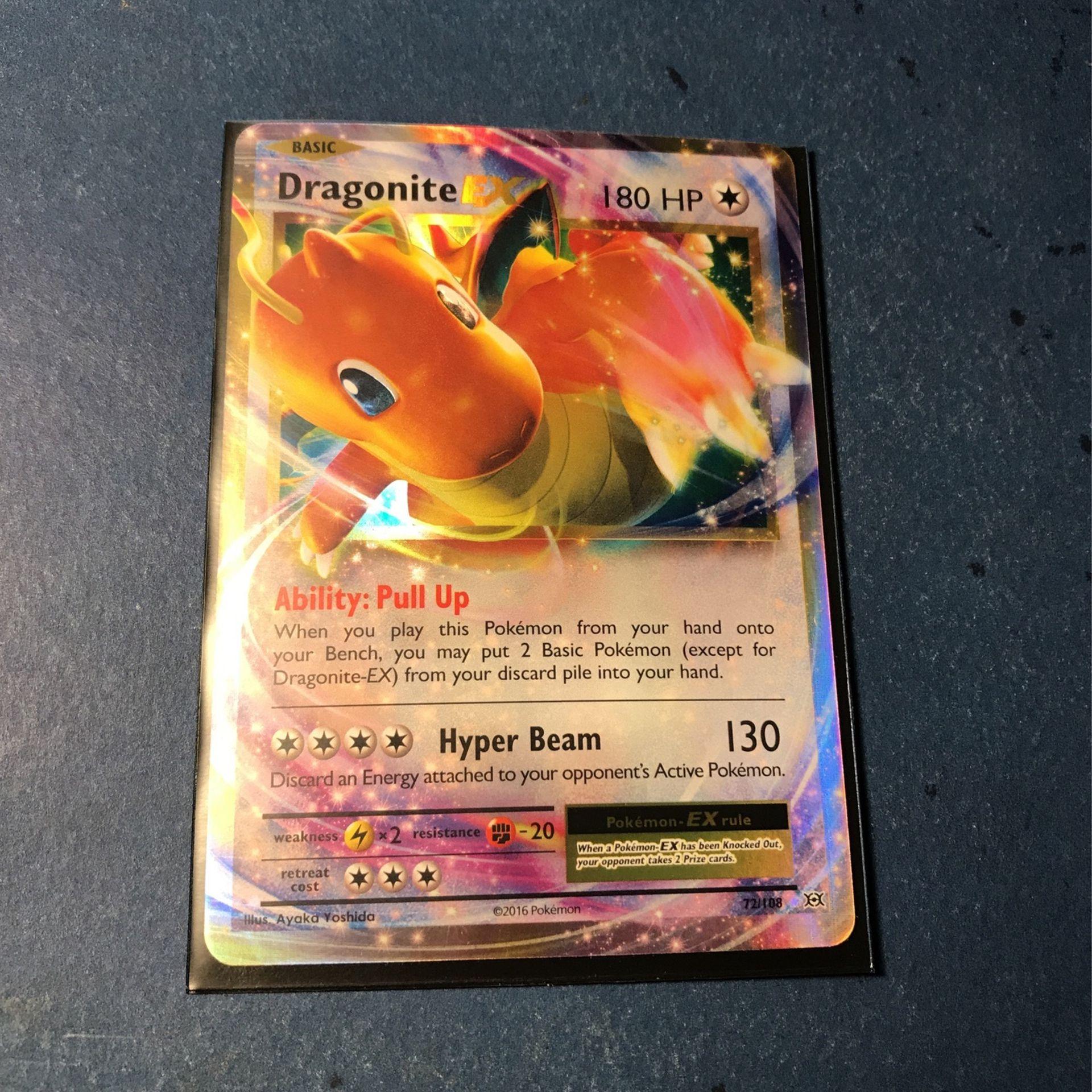 Pokémon: Dragonite EX (XY Evolutions)