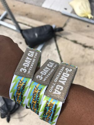 ACL wristbands for sale for Sale in Austin, TX