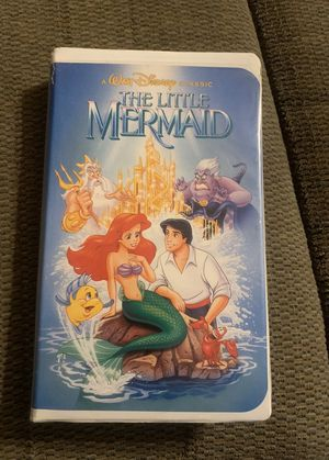 Photo DISNEY: THE LITTLE MERMAID - Black Diamond The Classics Banned Cover Edition VHS