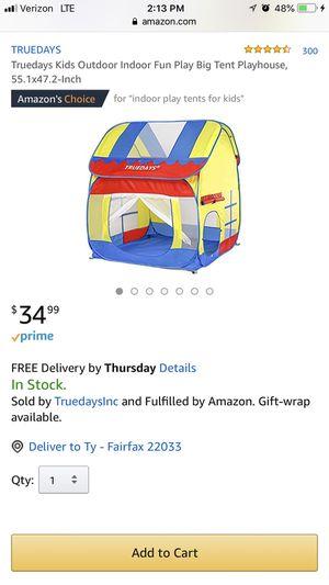 Kids tent for Sale in Fairfax, VA