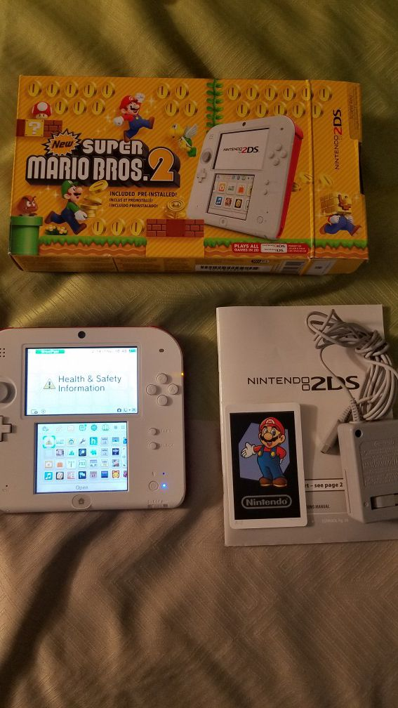 Nintendo 2DS New Super Mario Bros 2 Edition for Sale in Brownsville, TX -  OfferUp