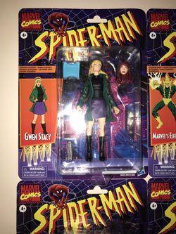 Marvel legends retro Spider-Man Thumbnail