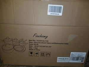 Photo Brand new pots and pans