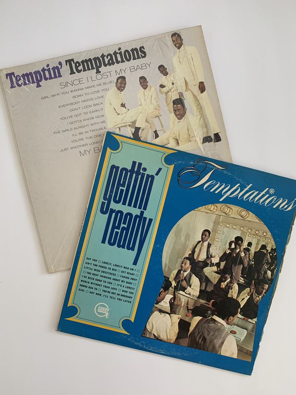 1960s Set Of 2 Temptations Records For Sale In Greensboro