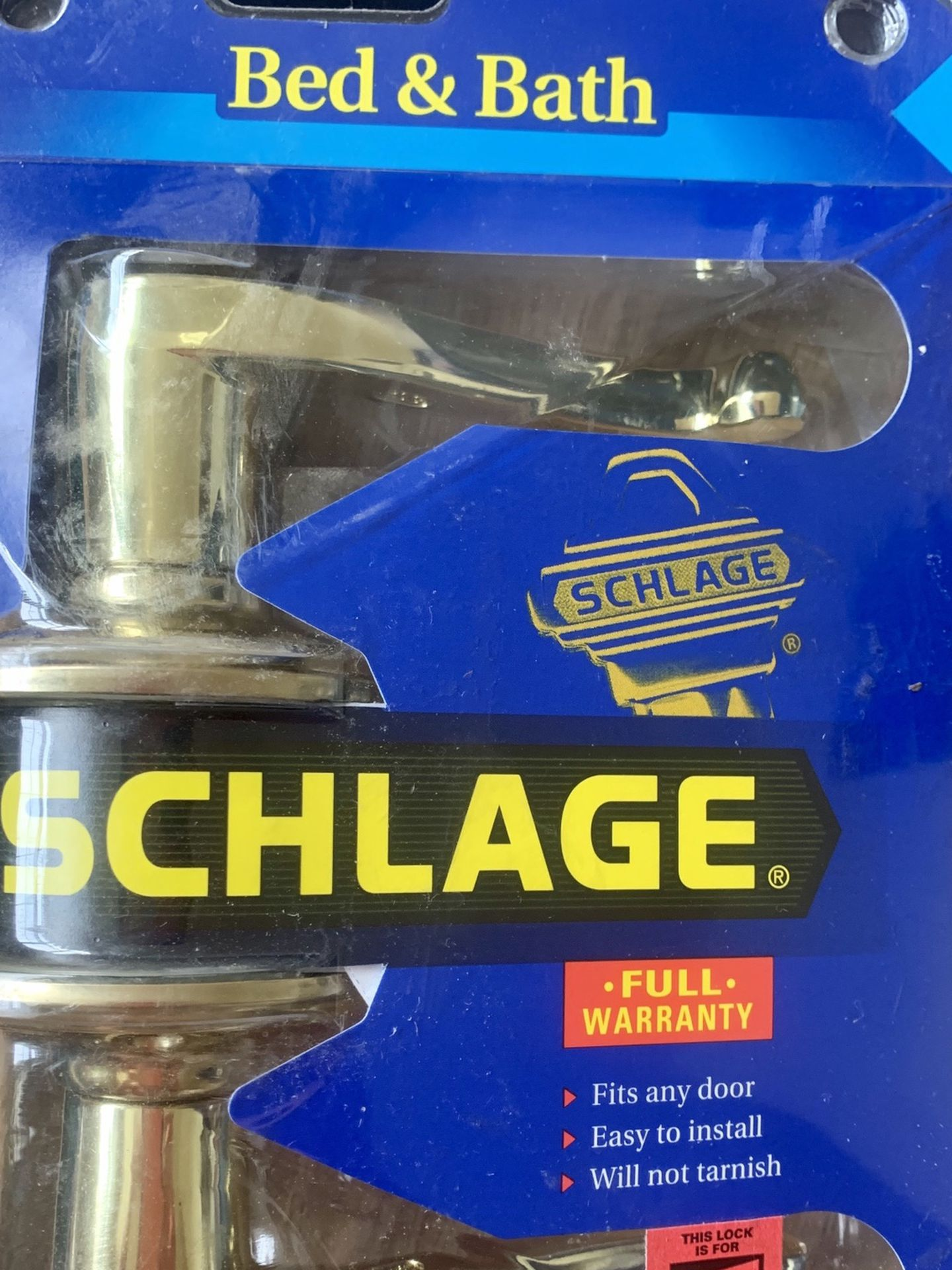Schlage Lock Set with Key Combo Pack R or L