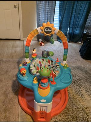 Photo 2 in 1 Baby Activity Saucer & Activity/Booster Seat