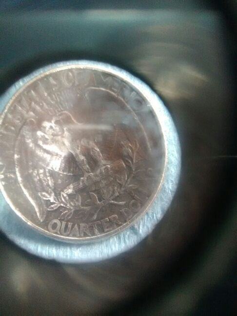 A 1971-d weird Washington quarter with a little eagle on the upper left  side  for Sale in Ontario, CA - OfferUp