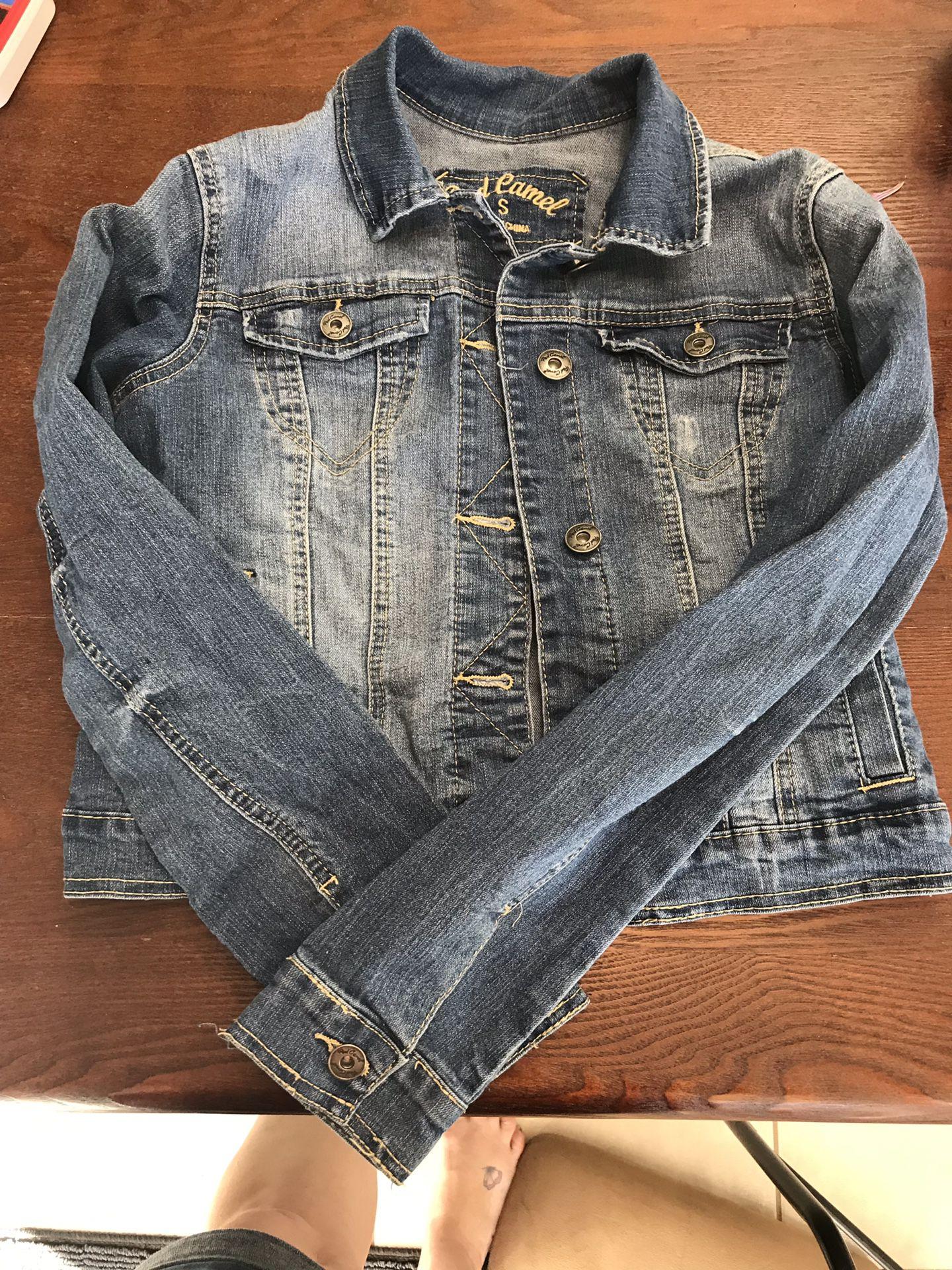 Jean jacket size small
