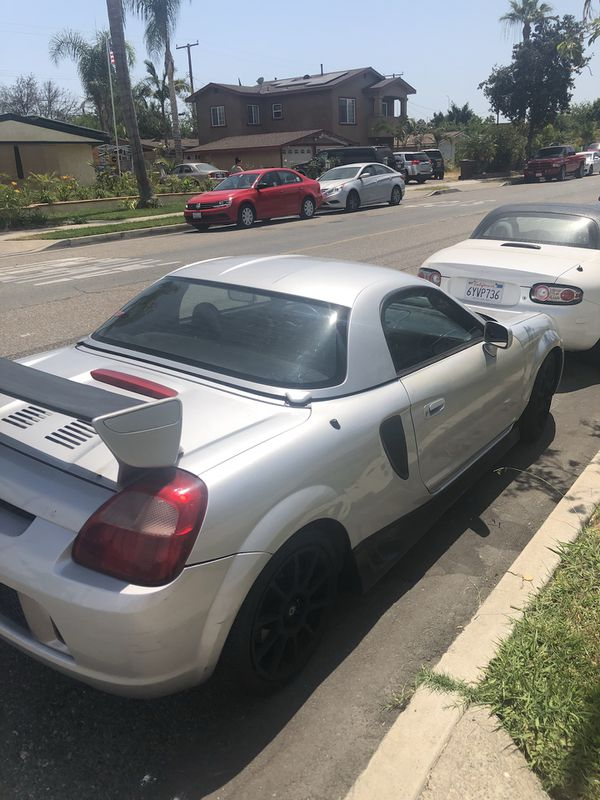 2002 Mr2 Spyder With A Hardtop 2zz And 6spd