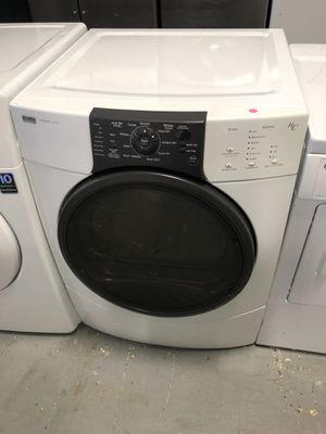 Kenmore elite front load washer and dryer electric set with warranty for Sale in Lake Ridge, VA