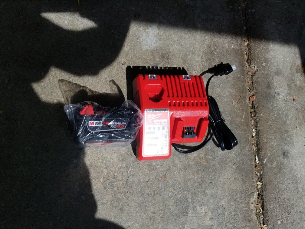 M18 5.0xc Battery And Charger