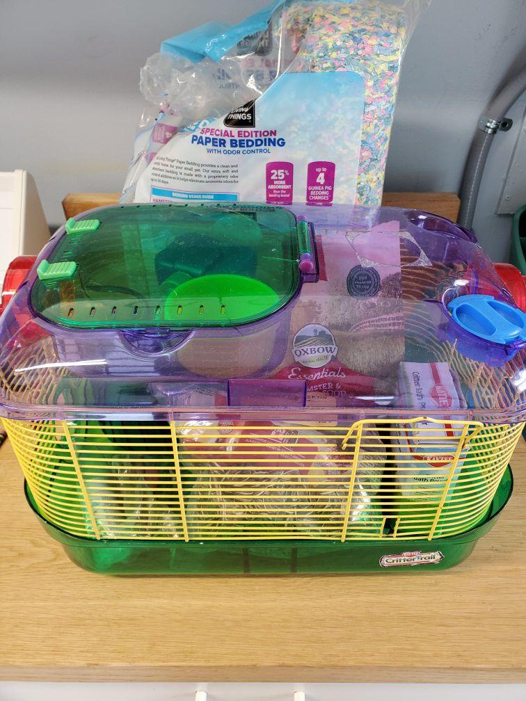 Hamster set-up