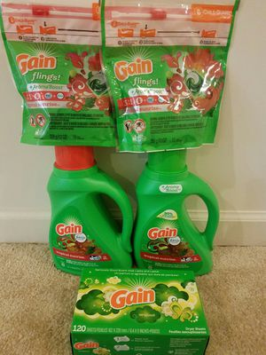 Gain laundry bundle - $20 not negotiable for Sale in Rockville, MD