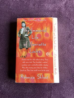 The Immortal Life of Henrietta Lacks for Sale in Haymarket, VA