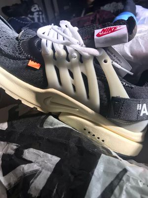 Nike Air Presto Off-White (size 10) for Sale in Rockville, MD