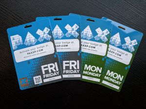 PAX 2018 Badges! NO MARK UP! for Sale in Seattle, WA