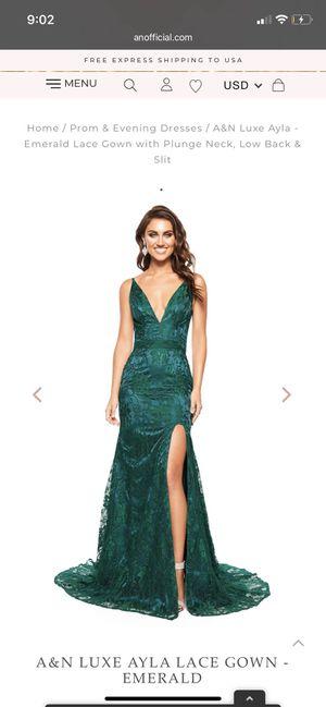 Photo Emerald Green Prom