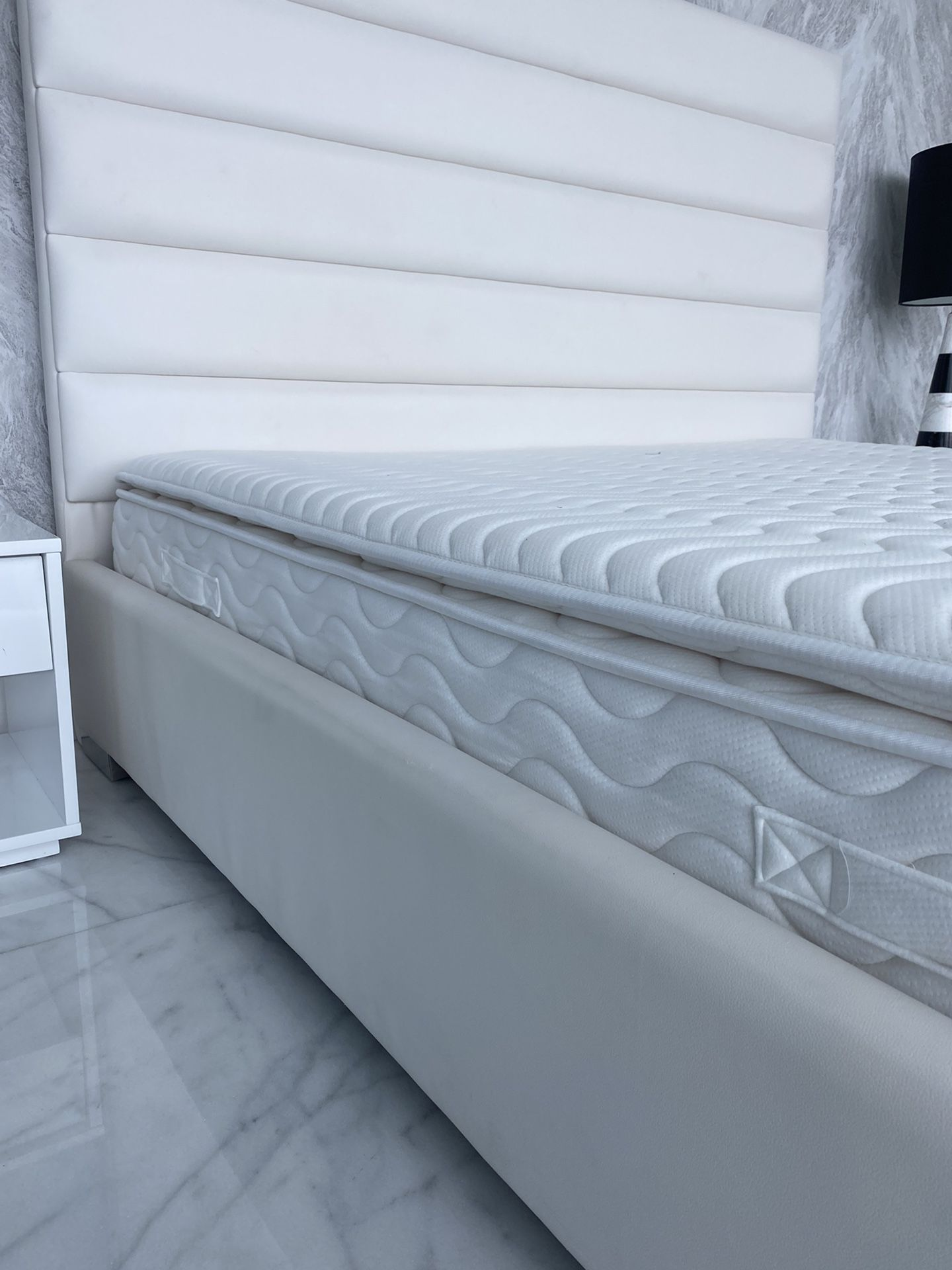 King Bed Frame AND/OR mattress