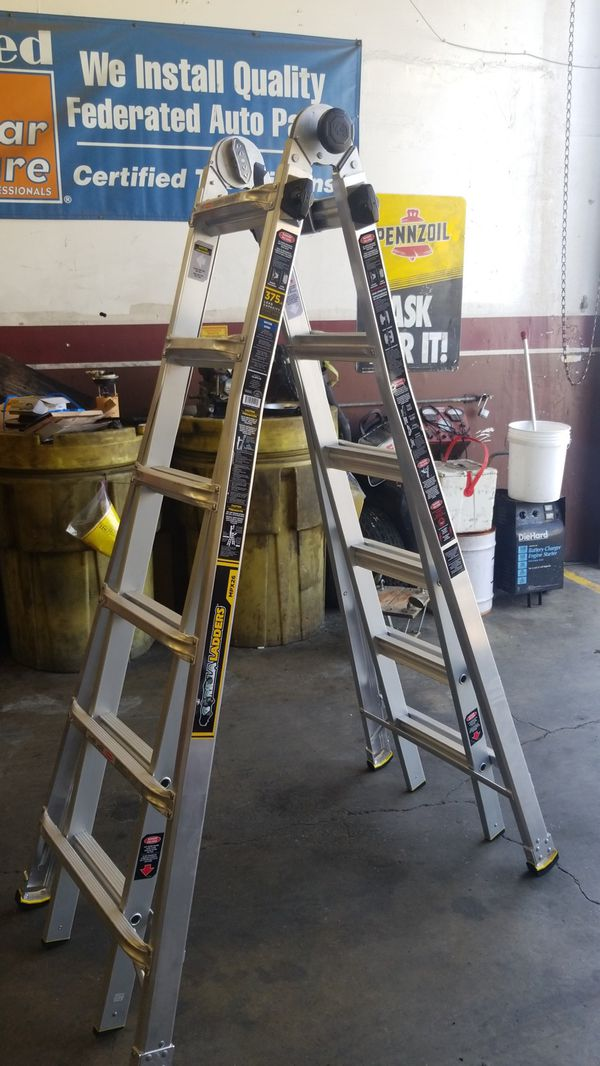 New GORILLA LADDER  MPX26  LOAD CAPACITY 375 LBS  for Sale in Newark, CA -  OfferUp