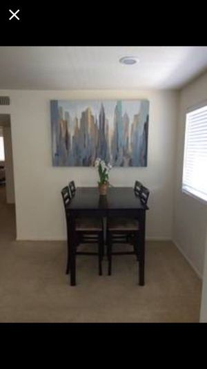 Dining Table With Bar Stools For Sale In San Diego CA