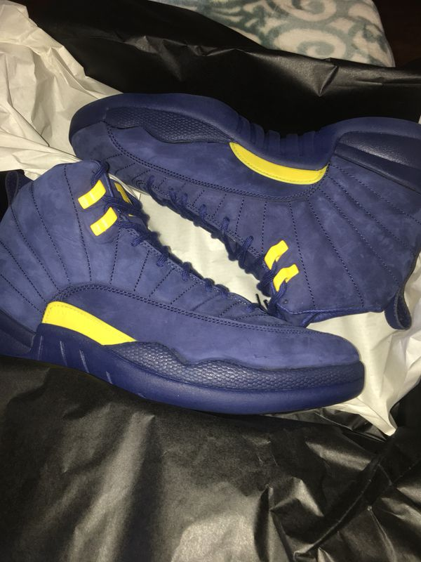 the latest dfb3f 27951 Air Jordan Retro 12 Michigan NRG for Sale in Los Angeles, CA - OfferUp