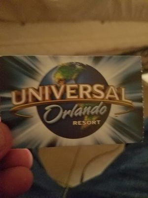 3 park tickets for this weekend value at the park $329 each . My price $120 each i have 6 for Sale in Orlando, FL