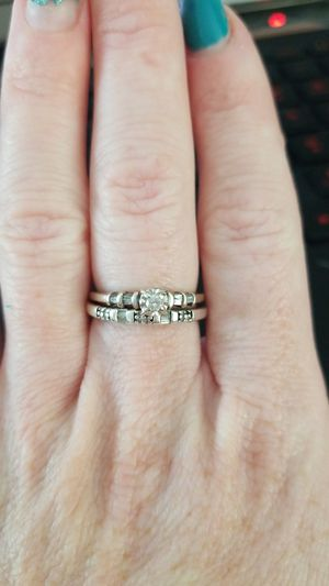 Engagement and wedding band for Sale in Fair Oaks, CA