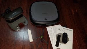 Photo ECOVACS DEEBOT Slim2 Robotic Vacuum Cleaner for Bare Floors Only with Dry Mopping Feature Used like new condition $100 firm