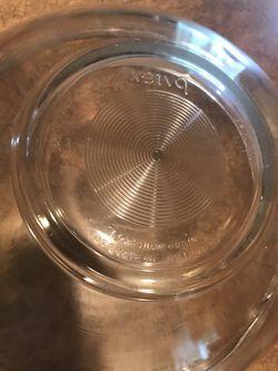 2 large vintage Pyrex nesting baking bowls   Thumbnail