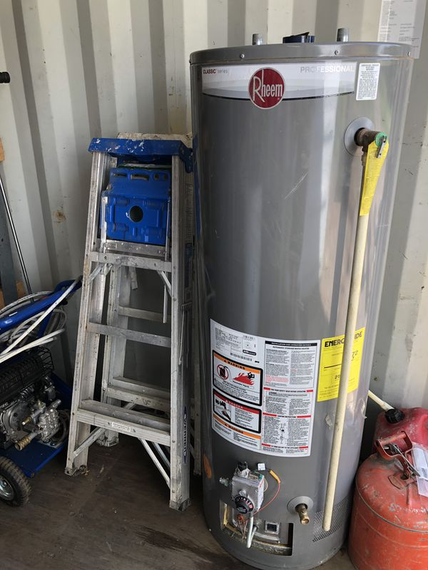 A Rheem 50 Gallon Hot Water Heater Gas For Sale In