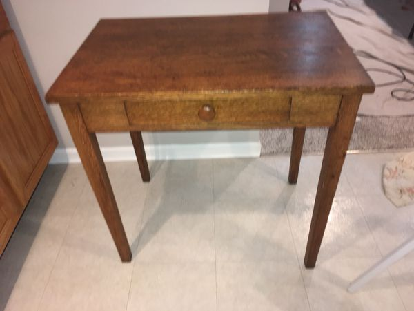 Mission Oak Library Table For Sale In Crystal Lake Il Offerup