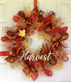 Fall wreath for Sale in Davenport, FL