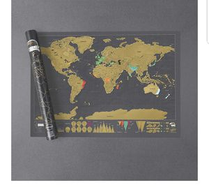 Scratch World Map/ Travel for Sale in Los Angeles, CA
