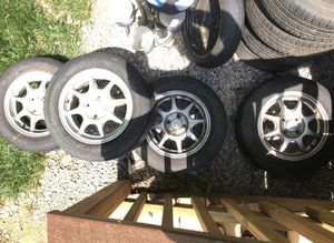 Honda Civic HX Spoked alloy wheel with tire all 4 for Sale in Woodbridge, VA