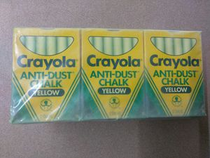 12 pack of Crayola chalk for Sale in Orlando, FL