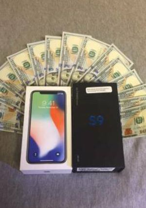 Wepay (CASH)(4) Samsung and iPhone phones for Sale in Charles Town, WV