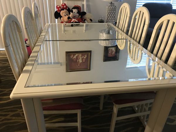 Sale In ClermontFl Table Chairs For W6 Room Dining Offerup QCxrdeWoB