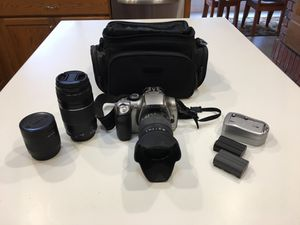 Canon EOS Rebel Digital Camera and Lenses for Sale in Roseville, CA