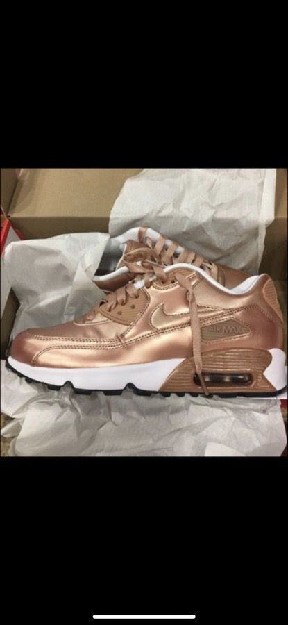 online store d3fa5 75158 Rose gold Air max 90