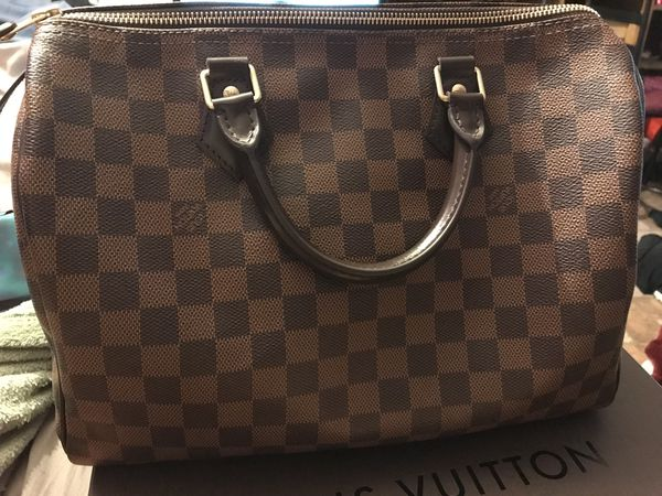 98c4db23b821 Louis Vuitton Speedy 30 Damier Ebene for Sale in Sacramento