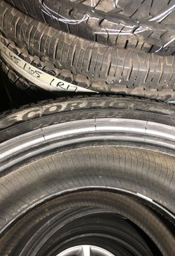 255-40-21 tires for sale SET of tires almost new %95 Thumbnail