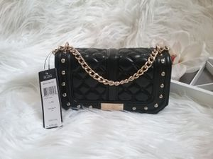 BCBG Paris Black and Gold Studded Mini Bag for Sale in Reno, NV