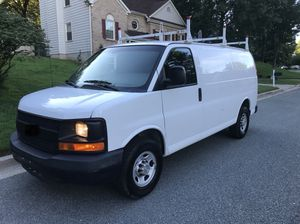 2008 CHEVY EXPRESS G2500 CARGO WORK VAN FULLY EQUIPPED ONE-OWNER for Sale in North Potomac, MD
