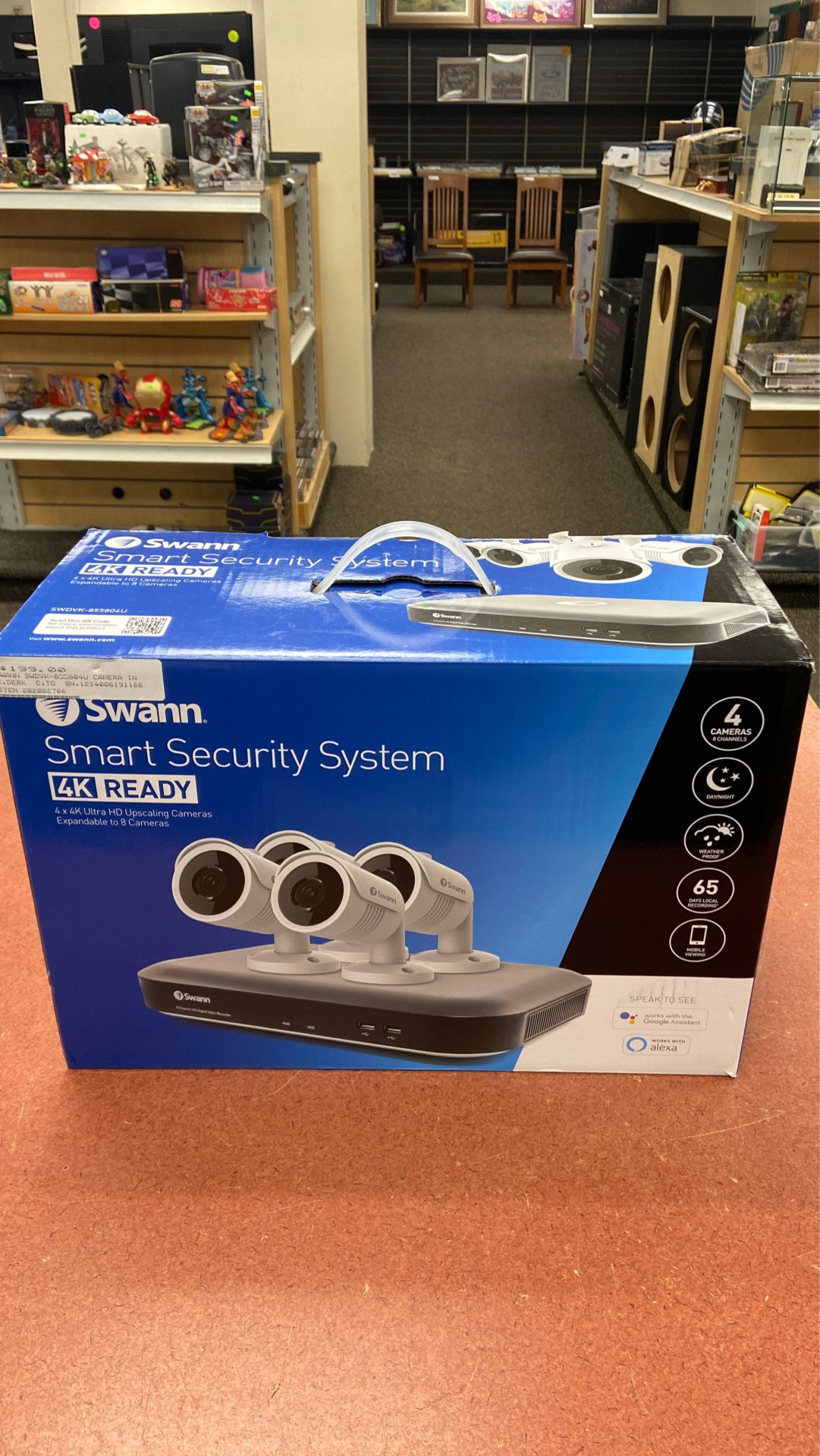 Swann Smart System SWDVK-855804U
