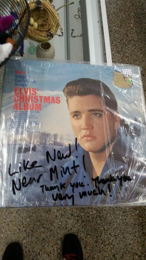 Elvis Presley Christmas album for Sale in Gaithersburg, MD