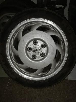 Photo Corvette rims with brand new tires