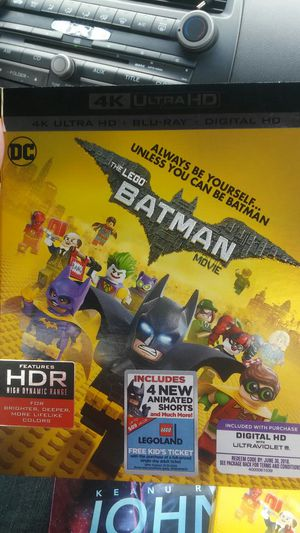 Lego batman 4k for Sale in Dallas, TX