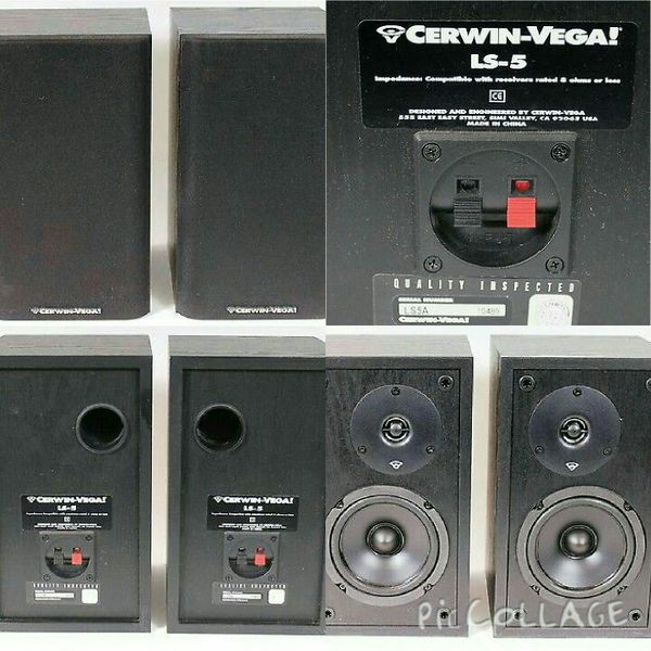 Cerwin Vega LS-5A & LS-5B home speakers for Sale in Garner, NC - OfferUp