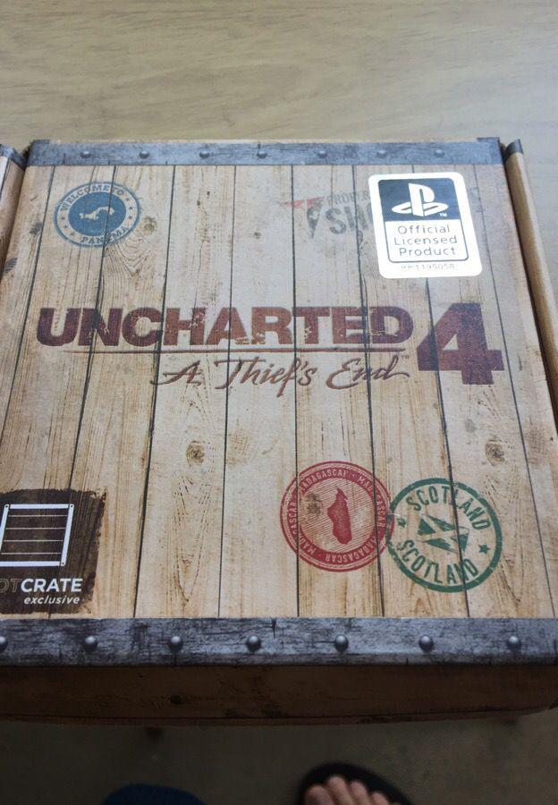 Uncharted 4 wallet