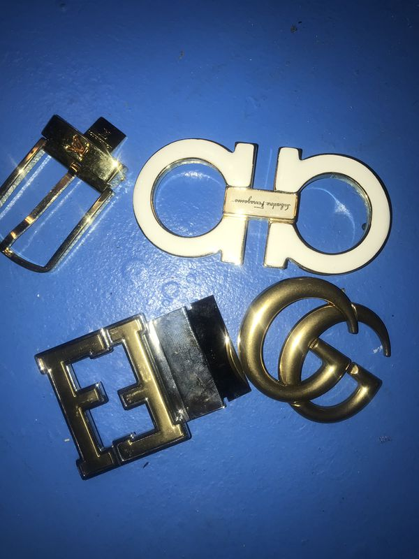 7ee2c1bb9 Designer Buckles from original belts!!LV,Ferragamo,Fendi,Gucci for ...